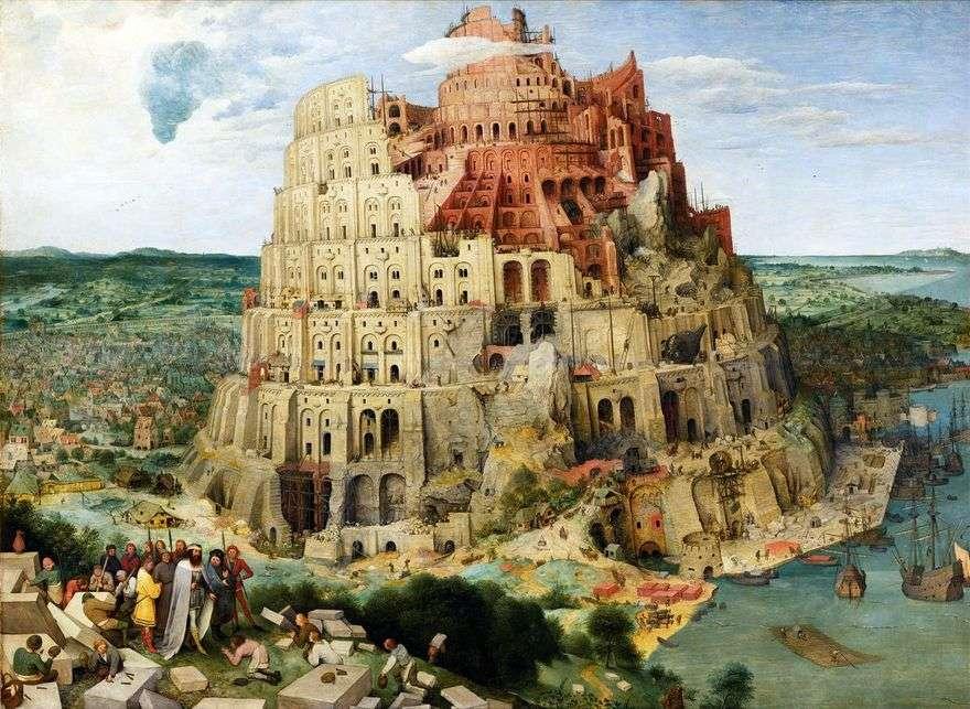 برج بابل   بيتر بروغيل