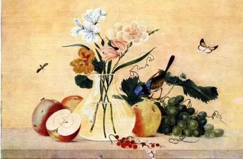 الزهور والفواكه والطيور   فيدور تولستوي