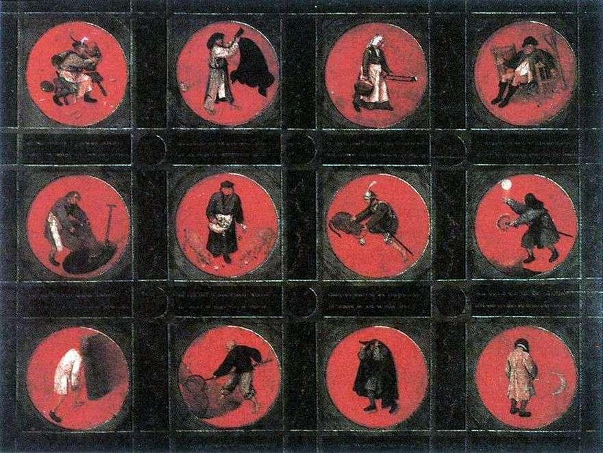 اثنا عشر الأمثال   بيتر Bruegel