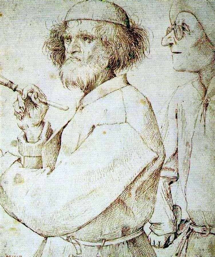 الرسام والمشتري   بيتر Bruegel