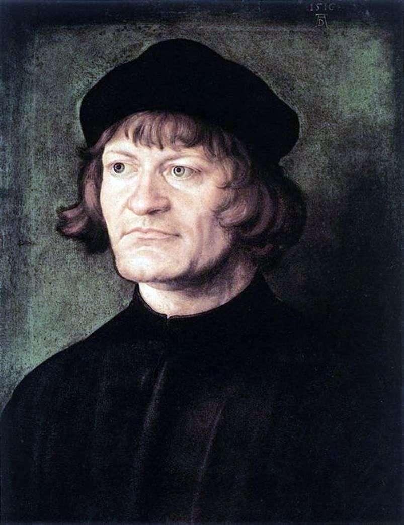صورة رجل دين   ألبريشت دورر