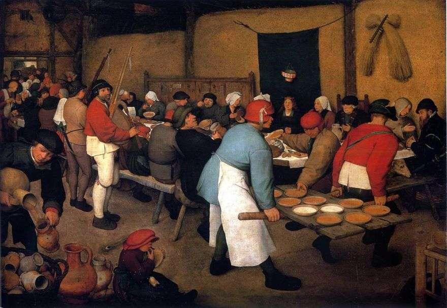عرس الفلاحين   بيتر Bruegel