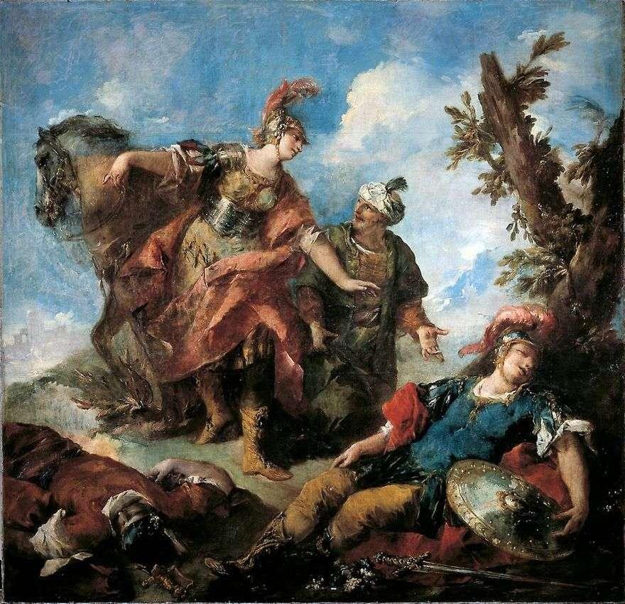 إرمينيا وافرين. العثور على جرحى تانكريد   جيوفاني أنطونيو غواردي
