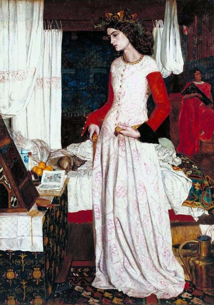 الجميلة Isolde   وليام موريس