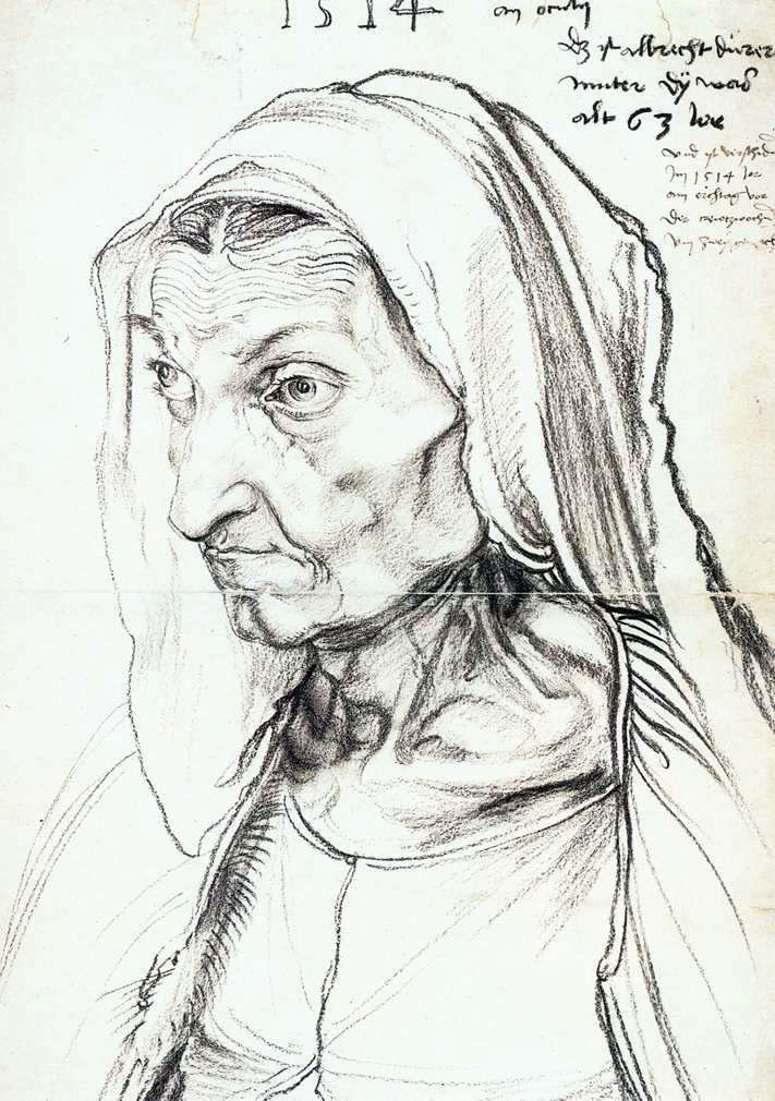 صورة الأم   ألبريشت دورر