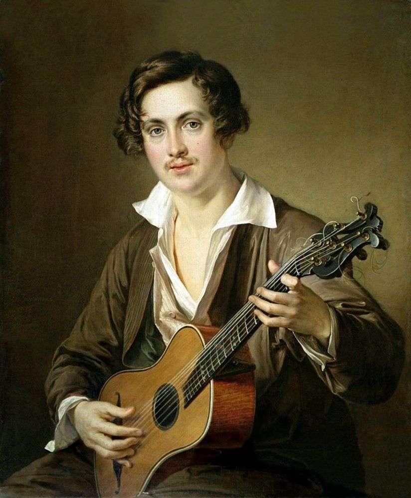 عازف الجيتار (صورة موركوف)   فاسيلي تروبينين