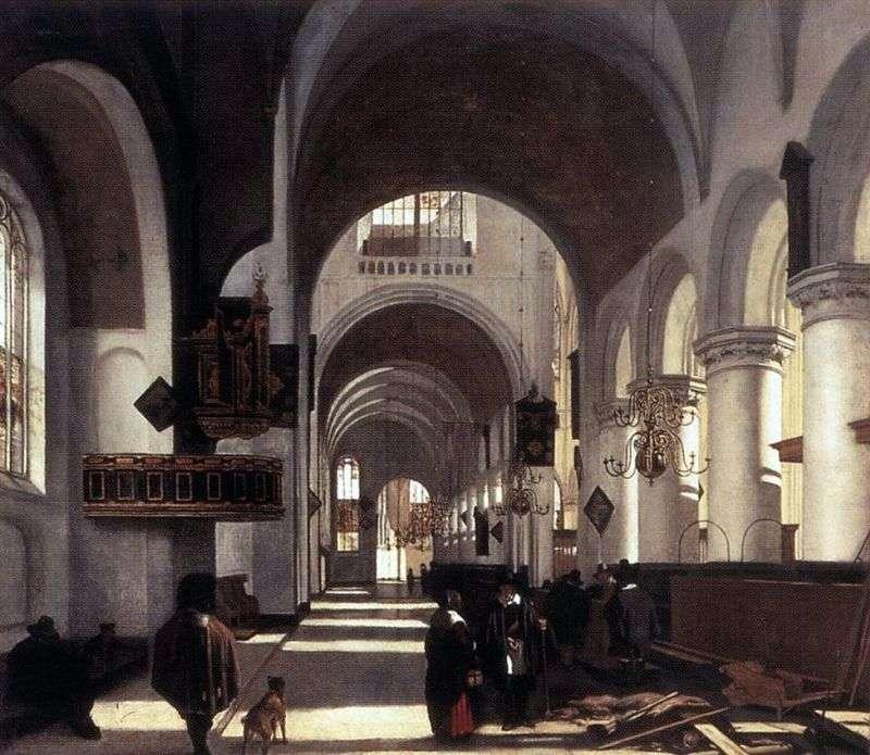 الكنيسة الداخلية   إيمانويل دي ويت