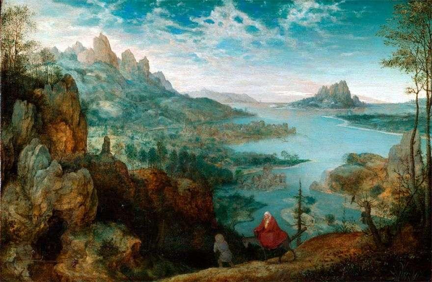 في الطريق إلى مصر   بيتر بروجيل