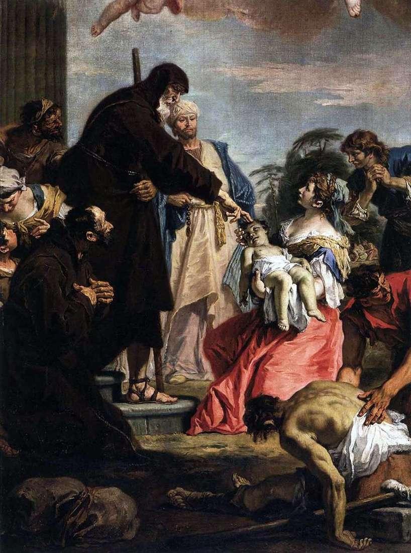 معجزة القديس فرنسيس   سيباستيانو ريتشي