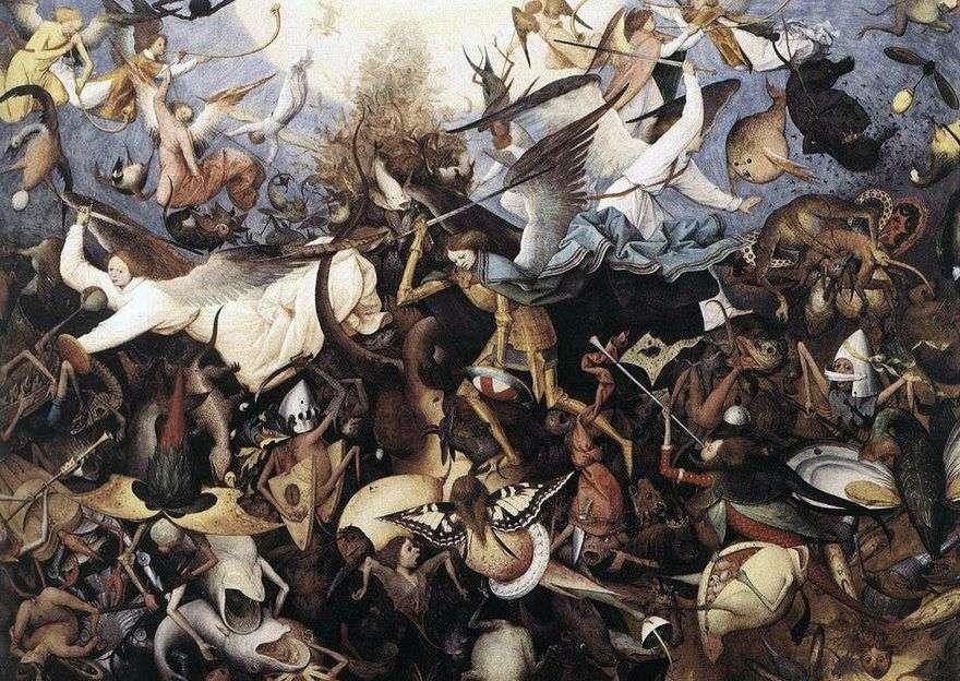 سقوط ملائكة المتمردين   بيتر بروجيل