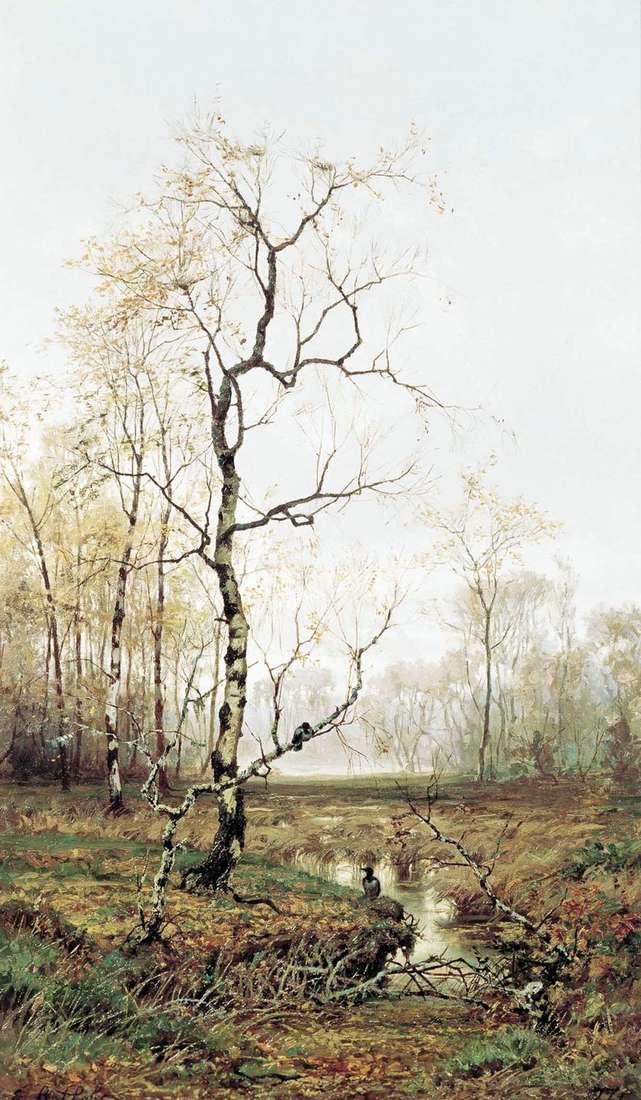 في الغابة. في الربيع   افيم فولكوف