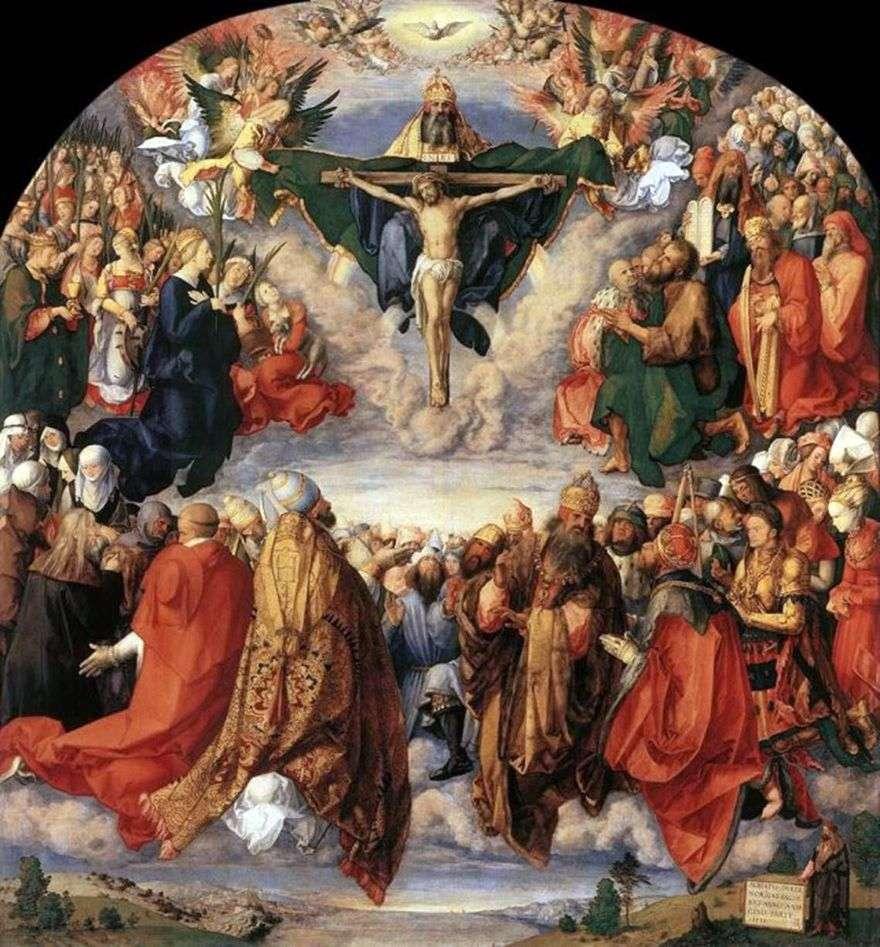 عيد جميع القديسين   ألبريشت دورر