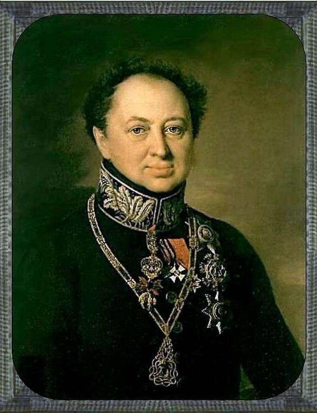 بورتريه د. تاتيشيف   فاسيلي تروبينين