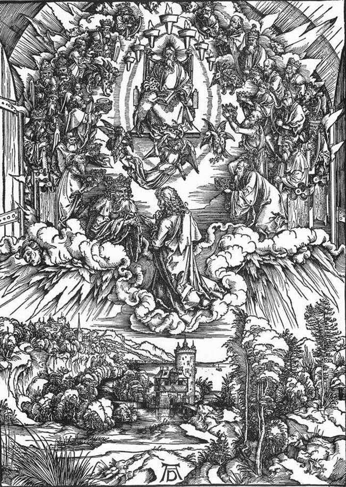 سانت جون والأربعة والعشرون من حكماء   ألبريشت دورر
