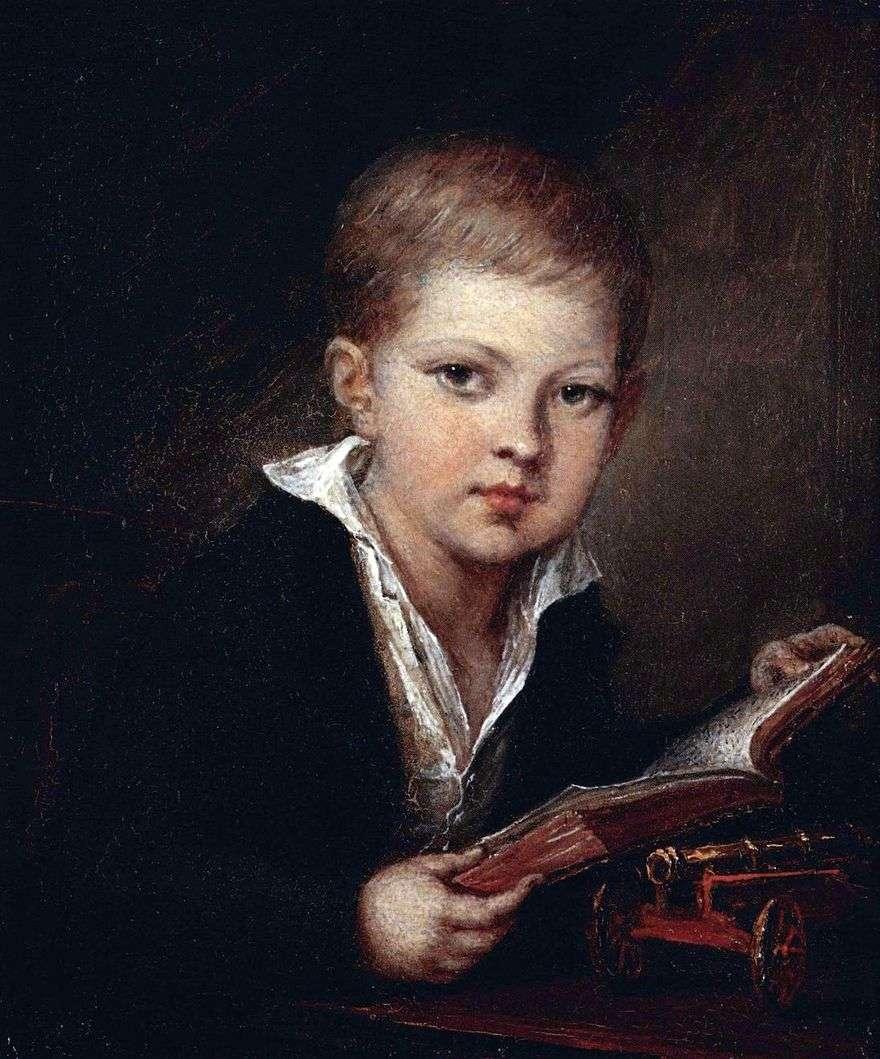 صورة الأمير M. A. Obolensky كطفل   فاسيلي تروبينين