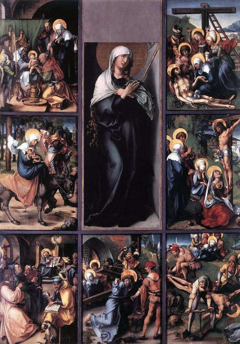 المشاعر السبع لماري   ألبريشت دورر