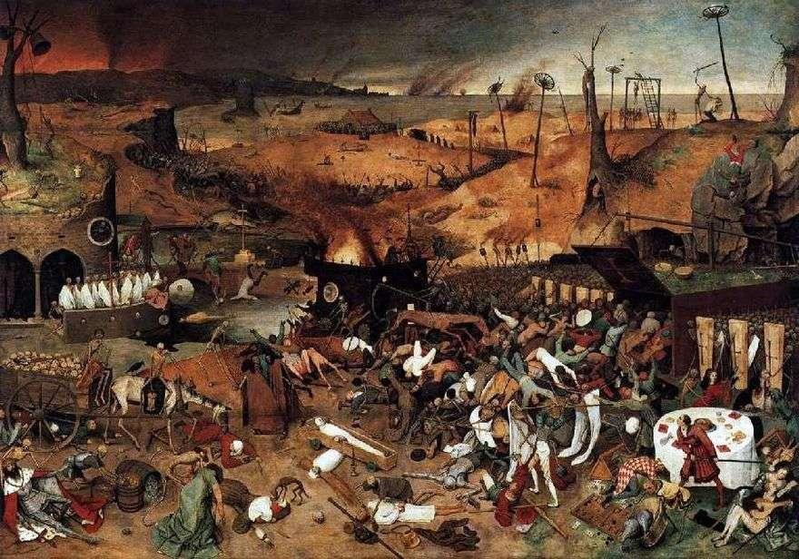 انتصار الموت   بيتر بروجيل