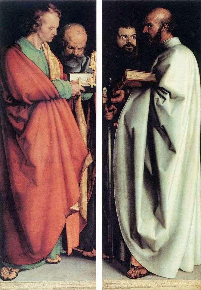 الرسل الأربعة   ألبريشت دورر