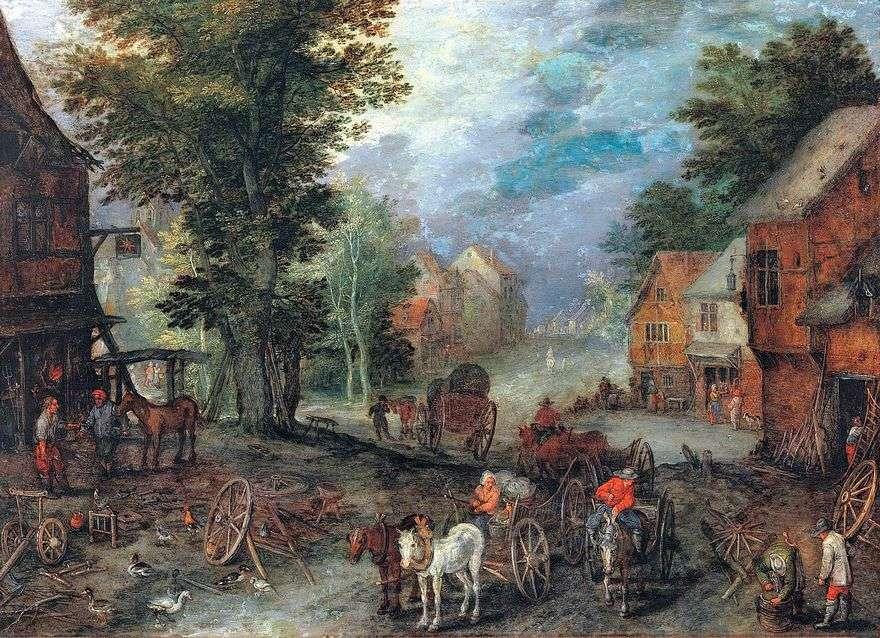 المناظر الطبيعية   يان Bruegel