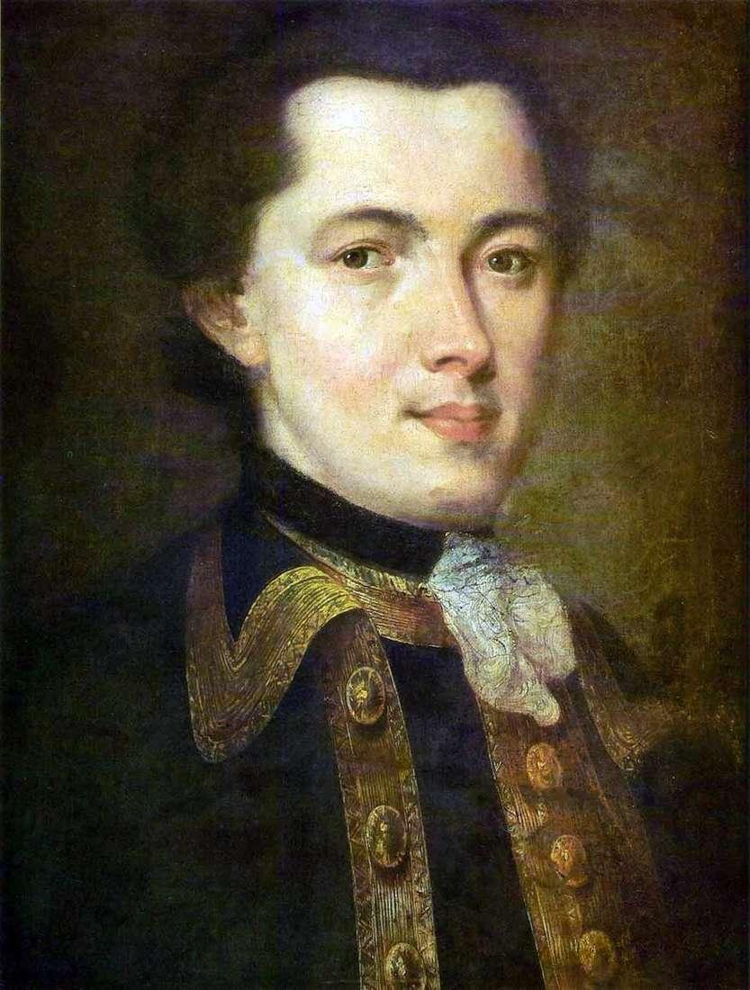 صورة لشاب مجهول يرتدي زي الحرس   فيدور روكوتوف