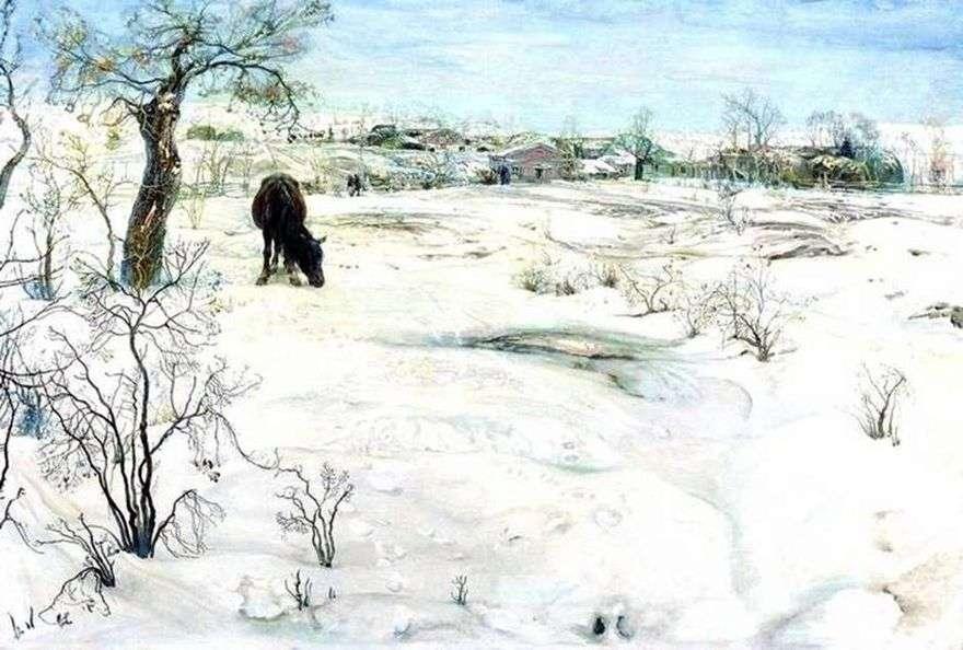 الشتاء   إسحاق برودسكي