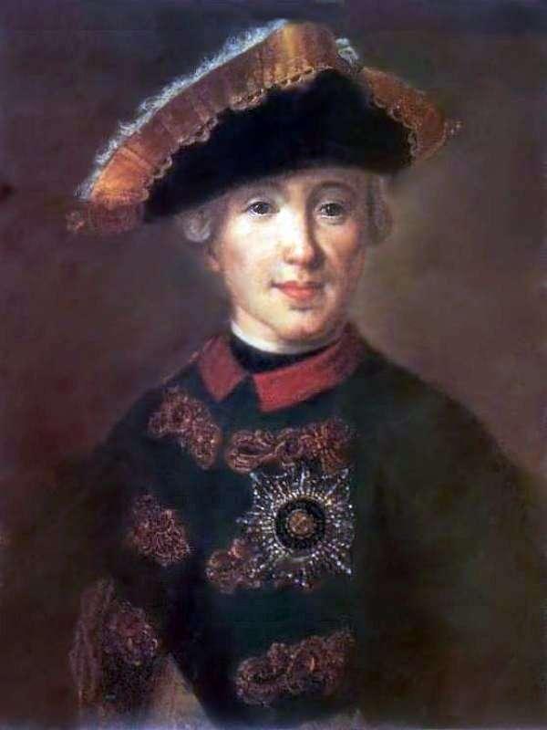 صورة بيتر فيدوروفيتش ، في مستقبل بيتر الثالث   فيدور روكوتوف
