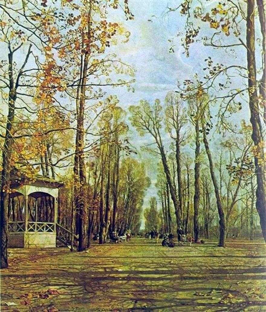 حديقة الصيف في الخريف   إسحاق برودسكي