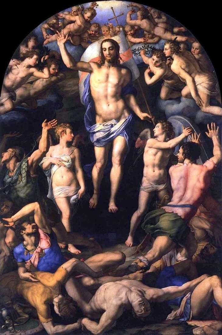قيامة المسيح   أنولو برونزينو