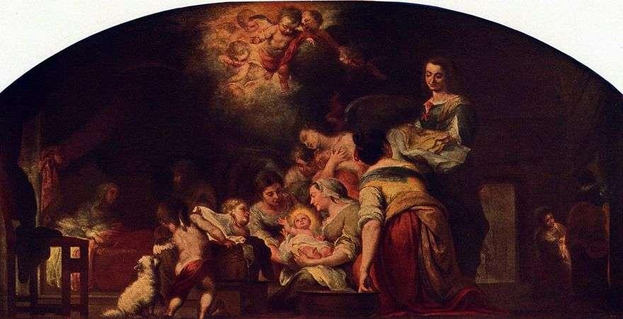 ميلاد السيدة العذراء   بارتولوم إستيبان موريللو