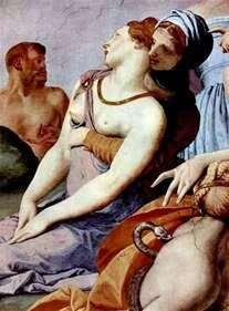 عبادة صليب مع ثعبان برونزي (فريسكو)   أنولو برونزينو